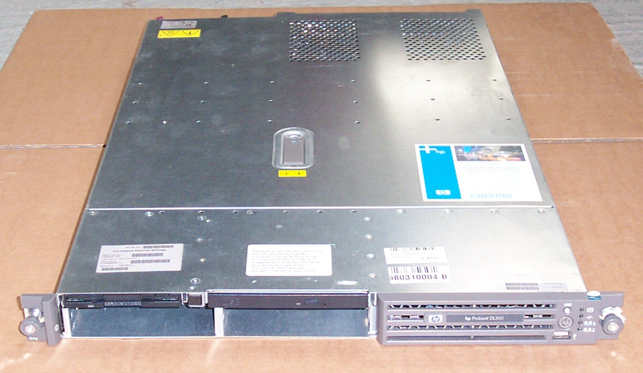 HP 470063-288 ProLiant DL360 G4p 1U Server - 3.0GHz 1GB RAM Enlarged Preview